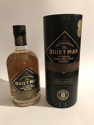 Quiet Man 8 - Single Malt Irish Whisky - Tube