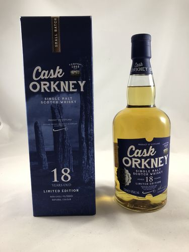 Cask Orkney 18, A.D. Rattray, 46%
