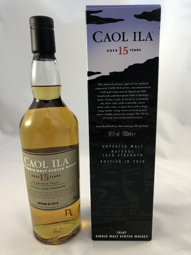 Caol Ila 15 Unpeated Style Special Release 2018, 59,1%