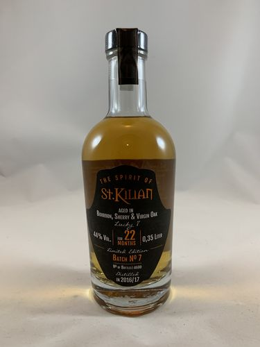 The Spirit of St. Kilian Batch 07, 44%, 0,35l