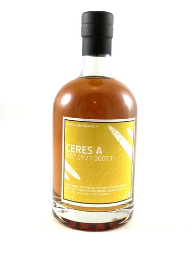 Ceres A, 1st Fill Oloroso Sherry Quarter Cask, 55,7% - Scotch Universe