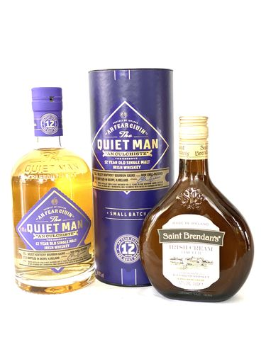 Quiet Man 12 & Irish cream